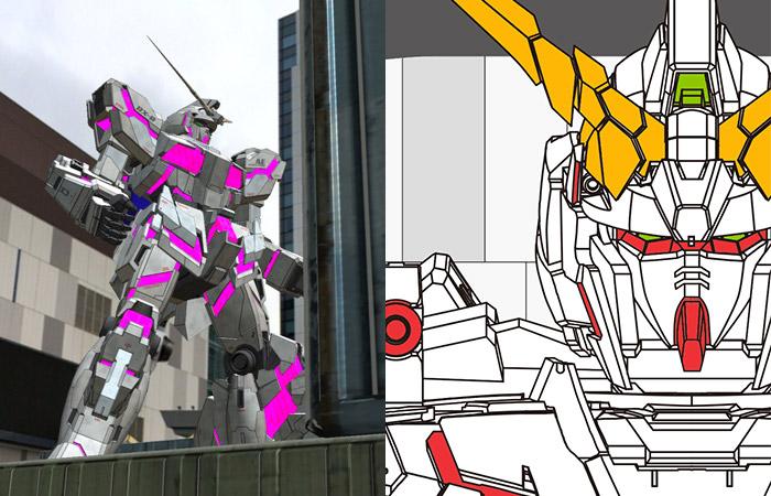 Bandai inaugura il sito web ufficiale della statua a grandezza reale del Gundam Unicorn