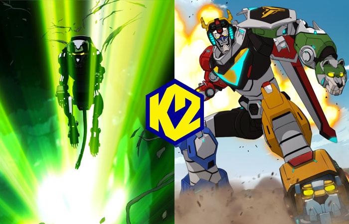 Voltron Legendary Defender: a settembre su K2
