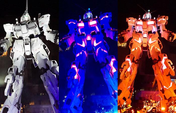 Apre al pubblico la statua a grandezza reale del Gundam Unicorn RX-0 di Tokyo