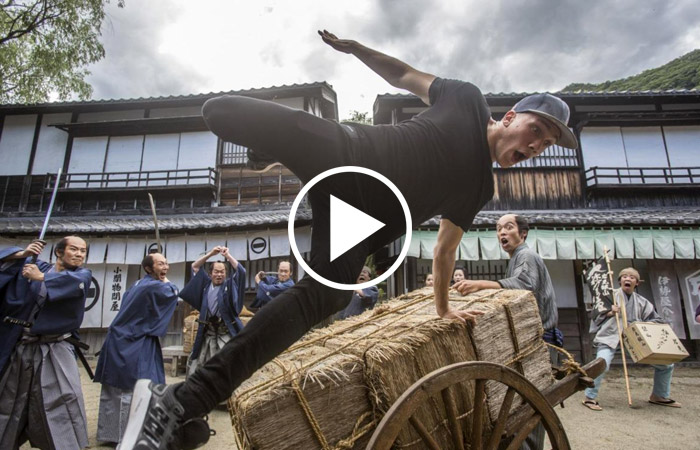 Edo Wonderland: samurai, ninja e geishe contro Jason Paul (in un fantastico video)