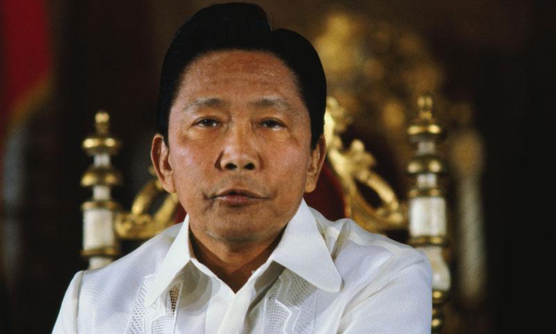 Il dittatore Ferdinand Marcos (Foto: Bettmann/Corbis)