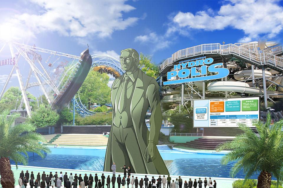 Il Parco Tematico Di Mazinga Z Sorger A Tokyo Per Scherzo