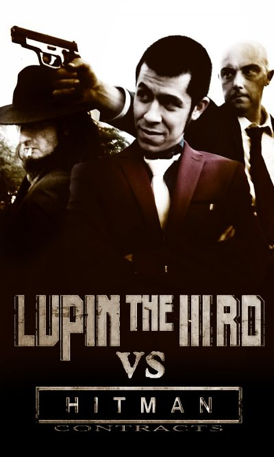 Il poster promozionale di LUPIN THE IIIRD vs HITMAN CONTRACTS.