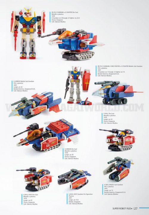 """Corposa e ricca di immagini la sezione dedicata a """"Kido Senshi Gundam"""" (1979)."""
