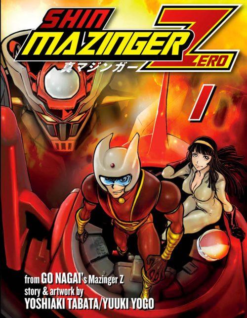 Shin Mazinger ZERO di Yoshiaki Tabata e Yuki Yogo. La serie manga è pubblicata in Italia da J-POP Manga.