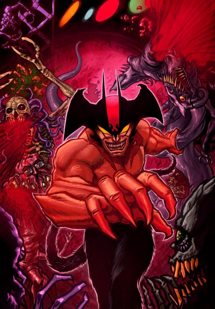 Decepticoin disegna Devilman: l'uomo diavolo viene dal freddo