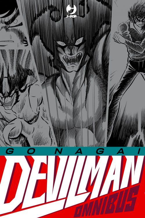 Devilman Omnibus, J-POP Manga edizioni, € 39,90.