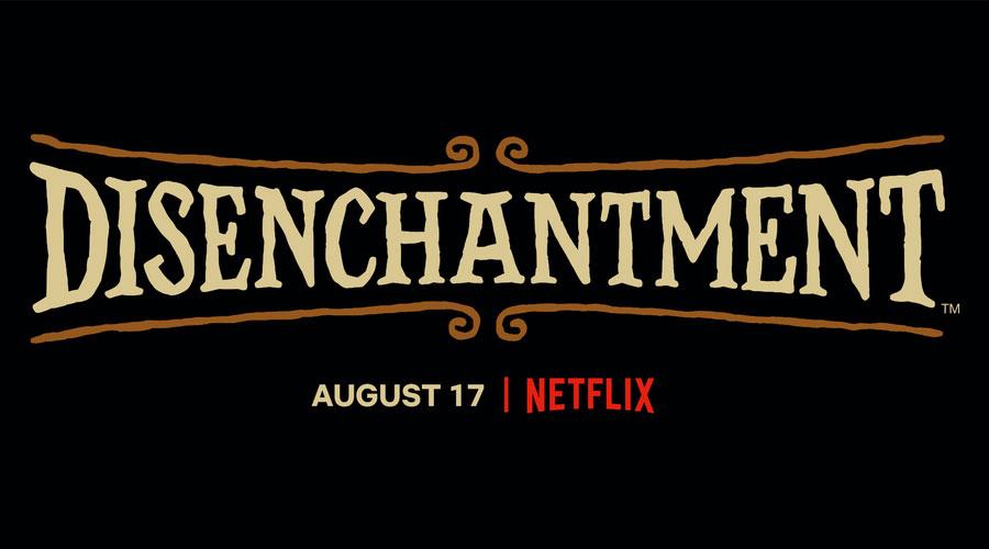 Disincanto Netflix: logo.