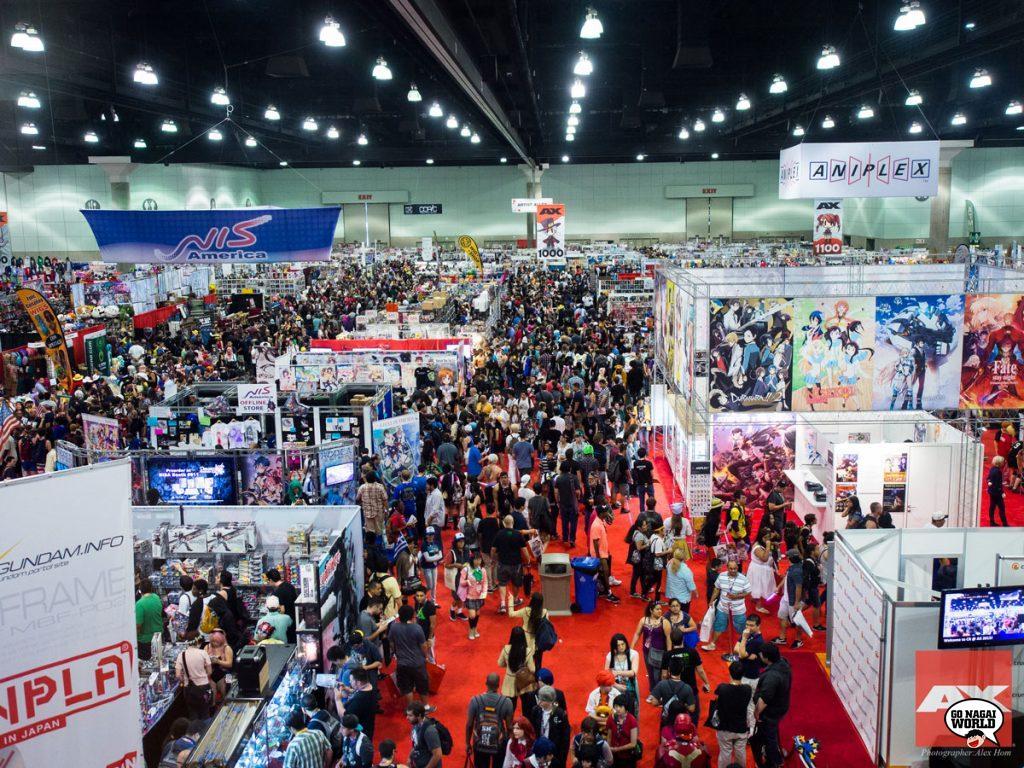 Go Nagai ospite all'Anime Expo 2018.