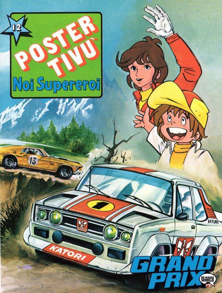 Grand Prix e il campionissimo: la copertina del Poster Tivù #12.