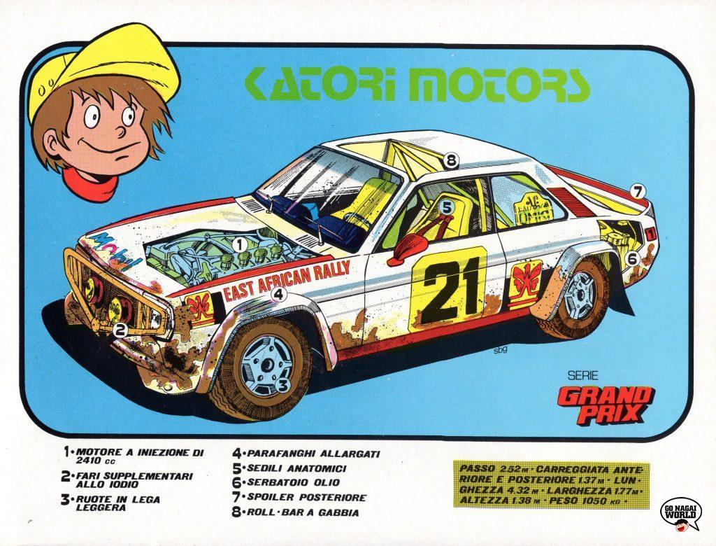 Grand Prix e il campionissimo: la vettura rally di Katori Motors.