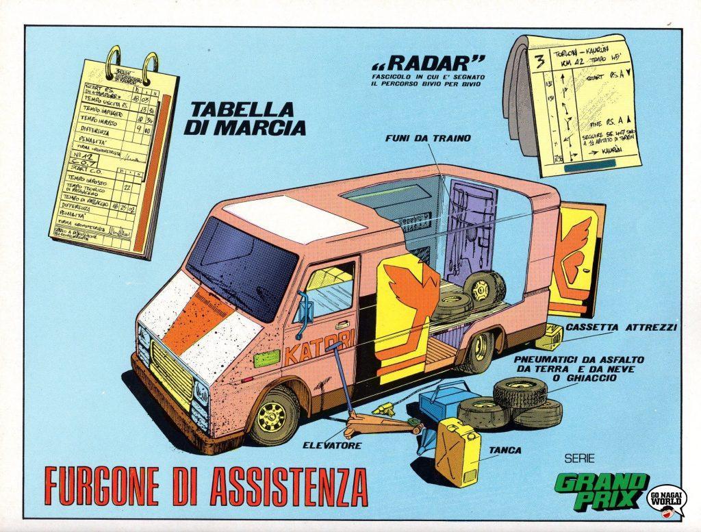 Grand Prix e il campionissimo: il furgone di assistenza.