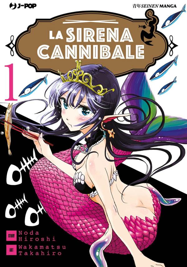 La Sirena Cannibale, copertina.