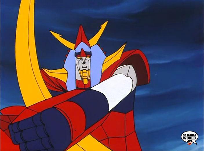 Il prode Raideen, le immagini dall'ultimo episodio della serie.