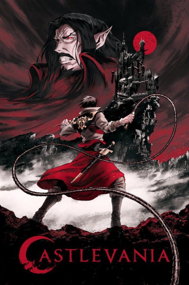 Castlevania, il poster della prima stagione.