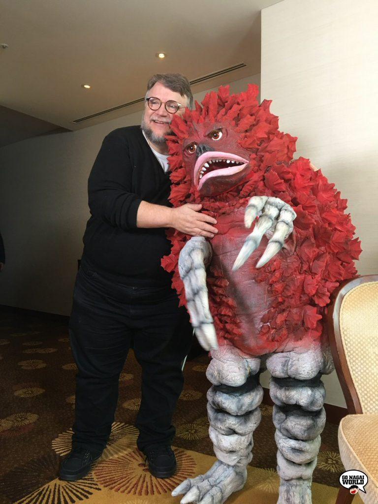 Guillermo del Toro a Tokyo.