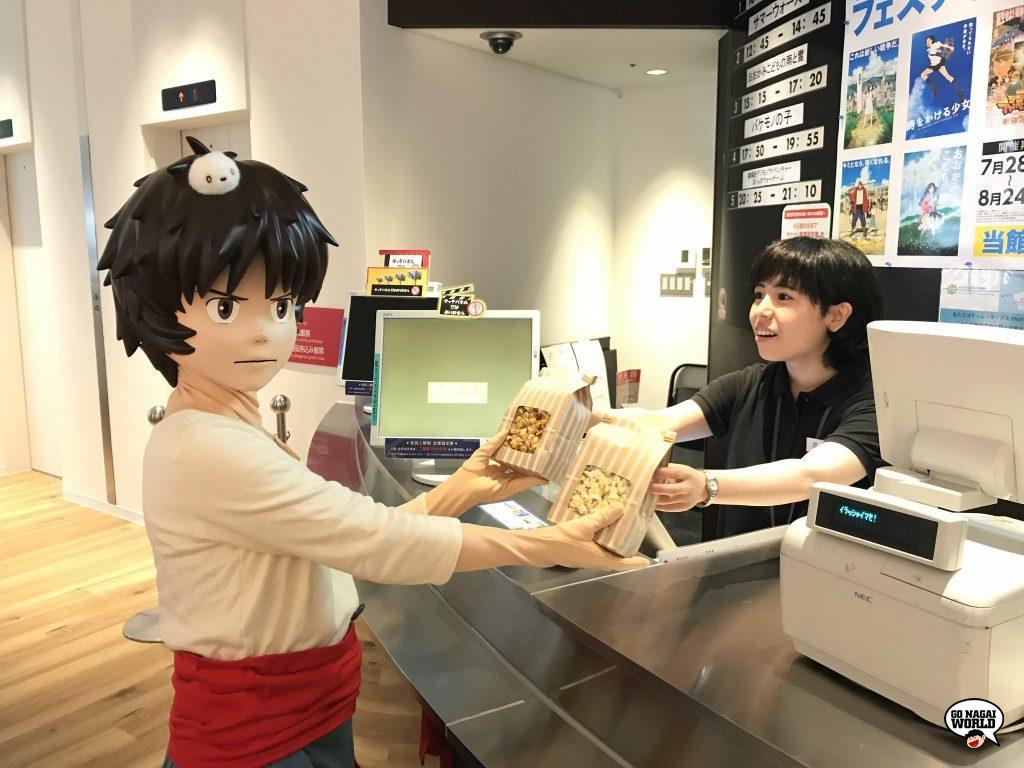 Prima di entrare in sala, è possibile acquistare gustosissimi snack presso lo shop del Kadokawa Cinema Shinjuku.