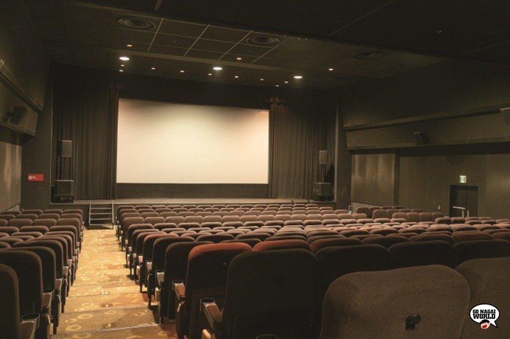 Kadokawa Cinema Shinjuku, sala con 300 posti a sedere.