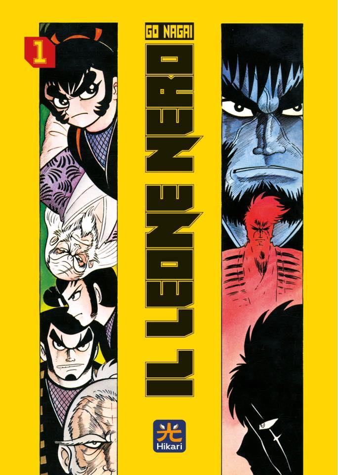 Il Leone Nero, copertina del volume 01.