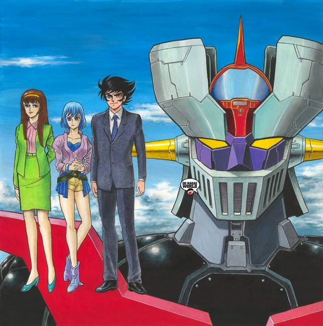 Mazinger Z Infinity Blu-ray First Press Limited Edition.