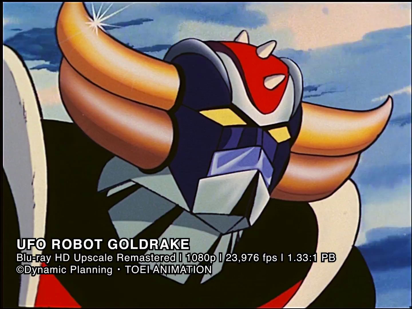 UFO Robot Goldrake in Blu-ray.