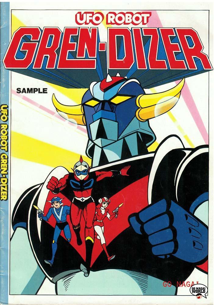 UFO Robot Gren-Dizer: copertina.