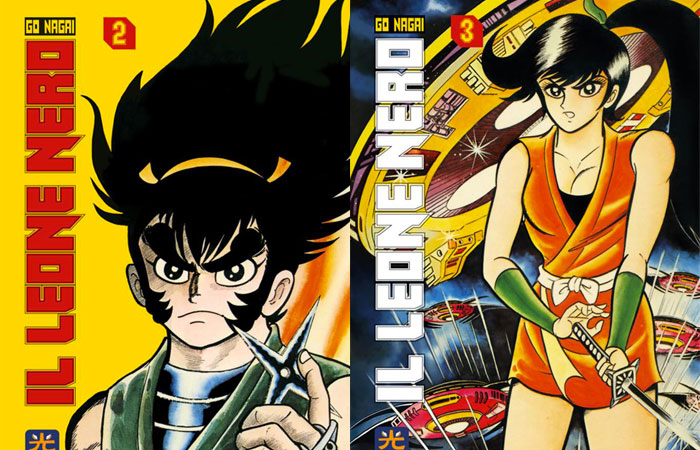 Il leone nero hikari edizioni presenta le copertine dei volumi