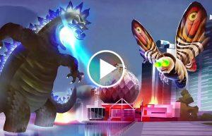 Rick diventa Godzilla nel folle promo video della quarta stagione di Rick and Morty