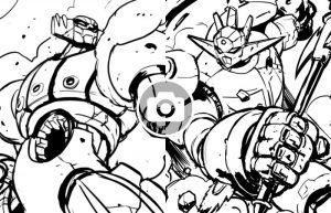 Goldrake, Jeeg, Getter Robot: il tributo ai Super Robot di Go Nagai dell'artista colombiano Juan Calle