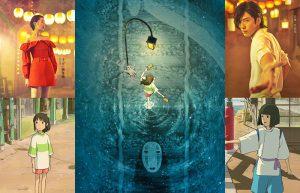 Quattro (più dieci) incredibili poster per il debutto in Cina de La città incantata