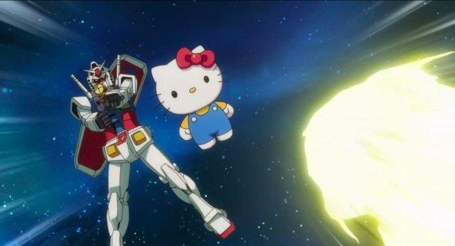 Gundam vs. hello kitty: in arrivo il secondo corto animato