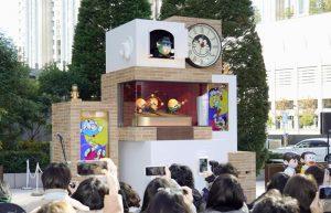 Al DiverCity Tokyo Plaza un orologio commemora i 50 anni di Doraemon