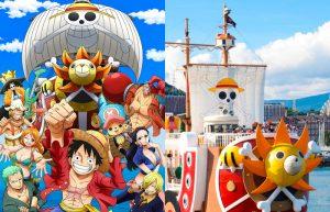 La nave di One Piece torna a Nagasaki dopo oltre quattro anni