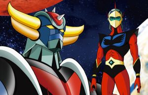 Go Nagai World 2D to 3D: gli eroi Dynamic Planning al Gallery Cafe Omega di Nakano