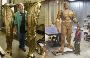 Una statua dedicata a RoboCop alta più di 3 metri sarà collocata nel Michigan Science Center di Detroit