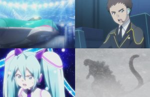 Shinkalion the Movie: online i primi 3 minuti del film (con la battaglia tra Godzilla e Miku Hatsune)