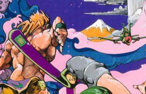 Hirohiko Araki disegna il poster dei XVI Giochi paralimpici estivi di Tokyo 2020