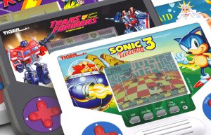 I videogiochi tascabili LCD di Tiger Electronics tornano sul mercato con Sonic, Transformers e gli X-Men