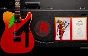 Fender x Evangelion: ecco la chitarra Telecaster ispirata ad Asuka Langley Soryu