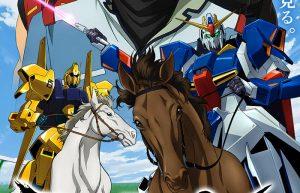 Riding Warrior Gundam JRA Derby: gli eroi del franchise Sunrise corrono nell'ippodromo di Tokyo