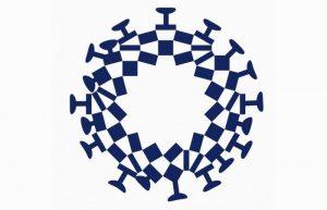 Coronavirus: il logo (modificato) delle olimpiadi di Tokyo che imbarazza il Giappone