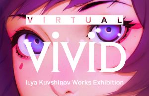 Una mostra in V.R. per Ilya Kuvshinov, character designer di Ghost in the Shell: SAC_2045