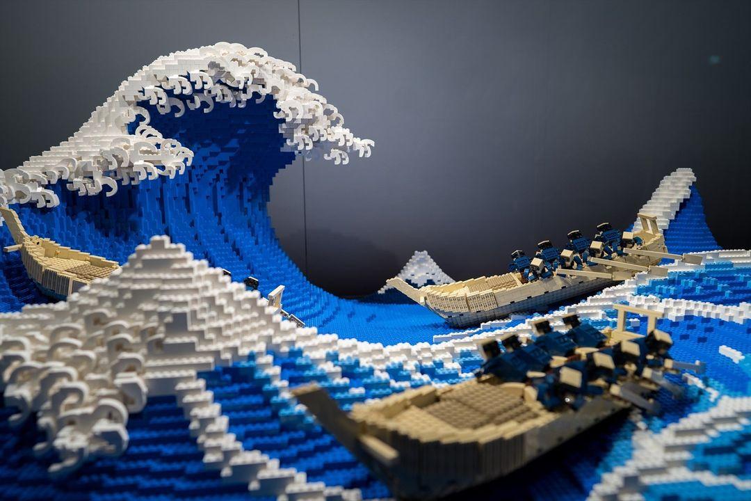 jumpei-mitsui-la-grande-onda-lego-03 - Go Nagai World